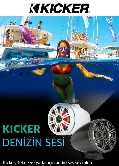 Kicker Tekne ve Yatlar için ses sistemleri
